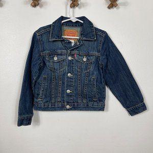 Levis' Toddler Boys 4T Denim Trucker Jacket